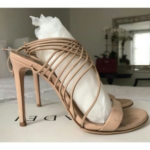Casadei Nude Strappy Sandals